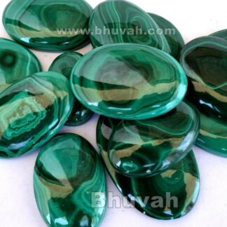 Gemstone - Stone - Cabochon - Gems - Malachite - Gifts