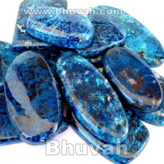 Gemstone - Stone - Cabochon - Gems - Azurite - Gifts
