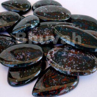 Gemstone - Stone - Cabochon - Gems - Bloodstone - Gifts
