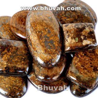 Gemstone - Stone - Cabochon - Gems - Bronzite - Gifts