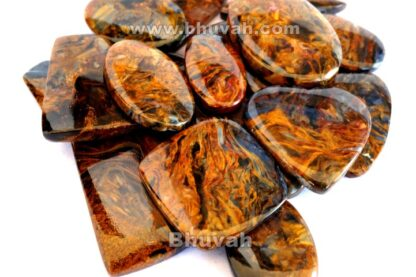 Gemstone - Stone - Cabochon - Gems - Pietersite - Gifts
