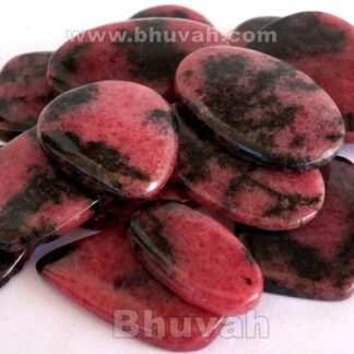 Gemstone - Stone - Cabochon - Gems - Rhodonite - Gifts
