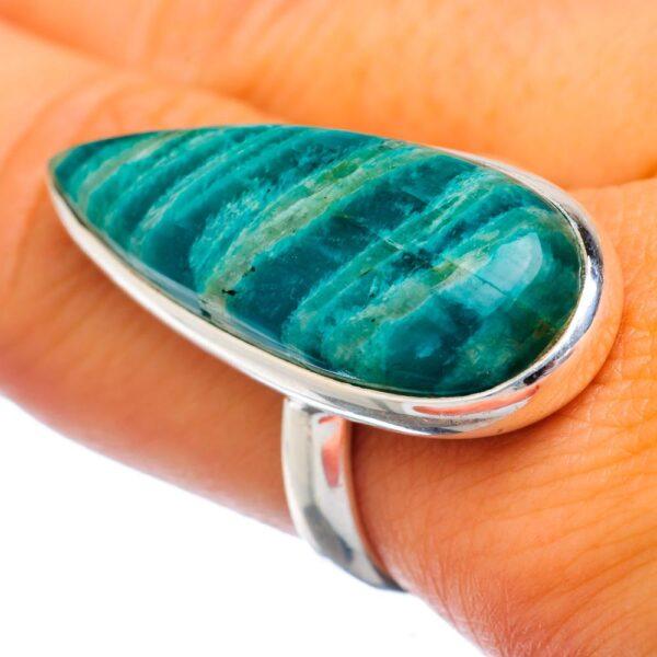 Amazonite Ring