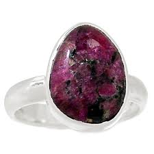 Eudialyte Stone Rings