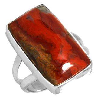 Moroccan Seam Agate Ring