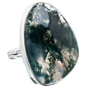 Moss Agate Rings