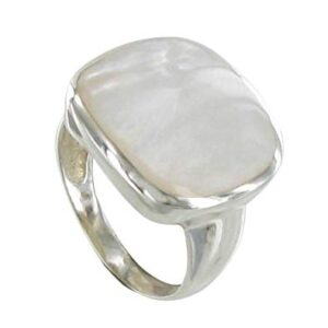 Mother of Pearl Stone Ring