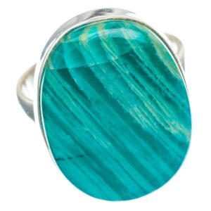 Natural Amazonite Ring