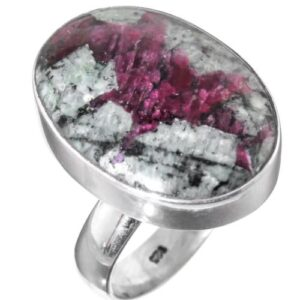 Natural Eudialyte Stone Ring
