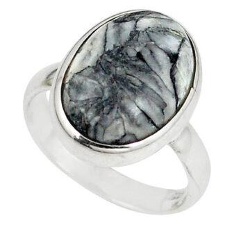 Natural Pinolith Stone Ring