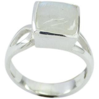 Natural Rainbow Moonstone RingNatural Rainbow Moonstone Ring
