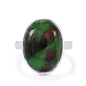 Natural Ruby Zoisite Ring