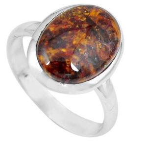Pietersite Stone Ring