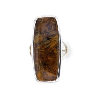 Pietersite Stone Rings