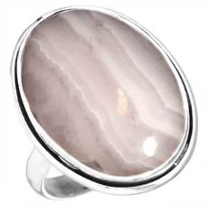 Pink Aragonite RingsPink Aragonite Rings
