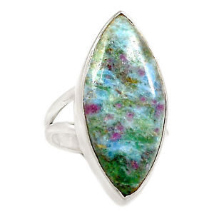 Ruby Fuchsite Ring