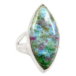 Ruby Fuchsite Ring