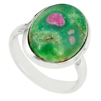 Ruby Fuchsite Stone Ring