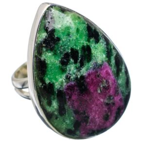 Ruby Zoisite Ring