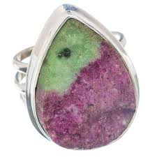 Ruby Zoisite Rings