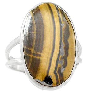 Schalenblende Stone Ring