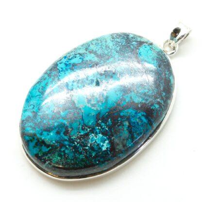 Azurite Stone Pendant