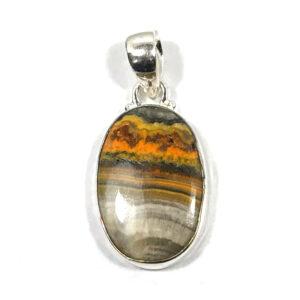 Bumble Bee Stone Pendant