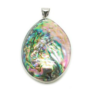 Natural Abalone Shell Pendant