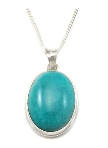Natural Amazonite Stone Pendant