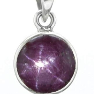 Natural Ruby Star Pendant Price