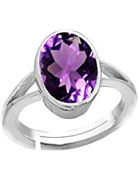 Amethyst Natural Stone Ring