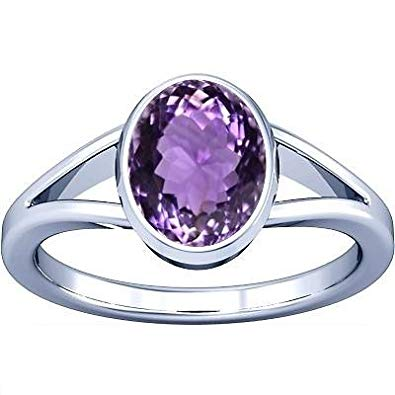 Amethyst Oval Shape Ring Price