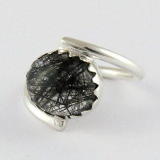 Black Rutile Ring