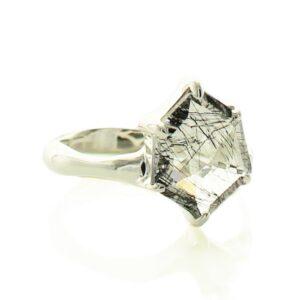 Black Rutile Ring Price
