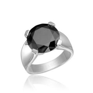 Black Zircon Ring Price
