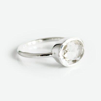 Crystal Clear Quartz Ring