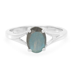 Faceted Labradorite Stone Ring Price