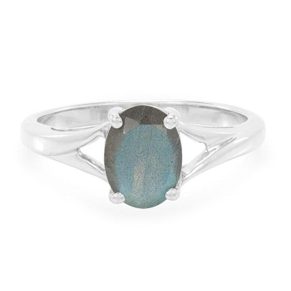 Faceted Labradorite Stone Ring Price