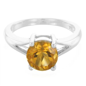 Fancy Design Citrine Ring