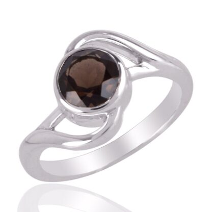 Fancy Shape Smoky Quartz Ring Price
