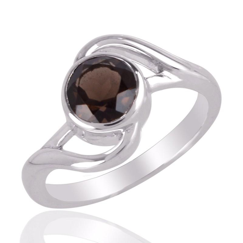 Fancy Shape Smoky Quartz Ring Price