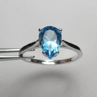 Genuine Blue Topaz Ring Price