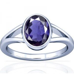 Iolite Stone Ring price