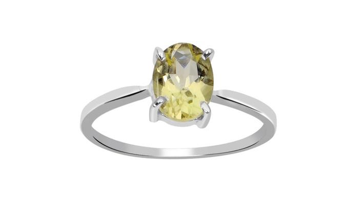 Lemon Quartz Ring Price