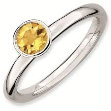 Natura Citrinr Ring
