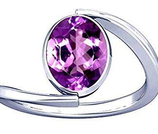 Natural Amethyst Stone Ring