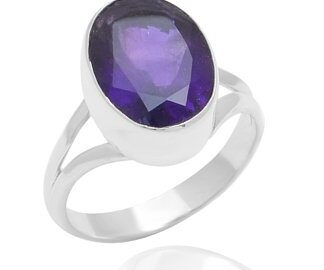 Natural Amethyst Stone Ring Price