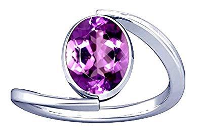 Natural Amethyst Stone Ring