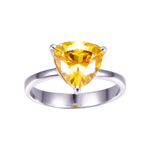 Natural Citrine Stone Ring Price