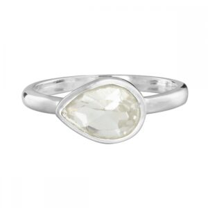 Natural Clear Quartz Ring
